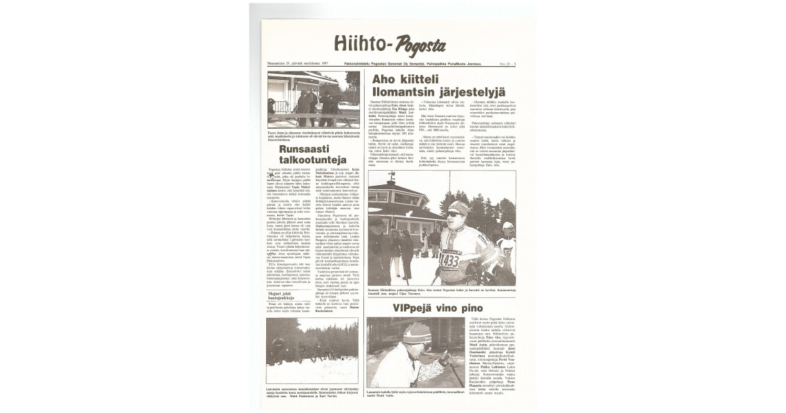 Vuoden 1997 artikkeli
